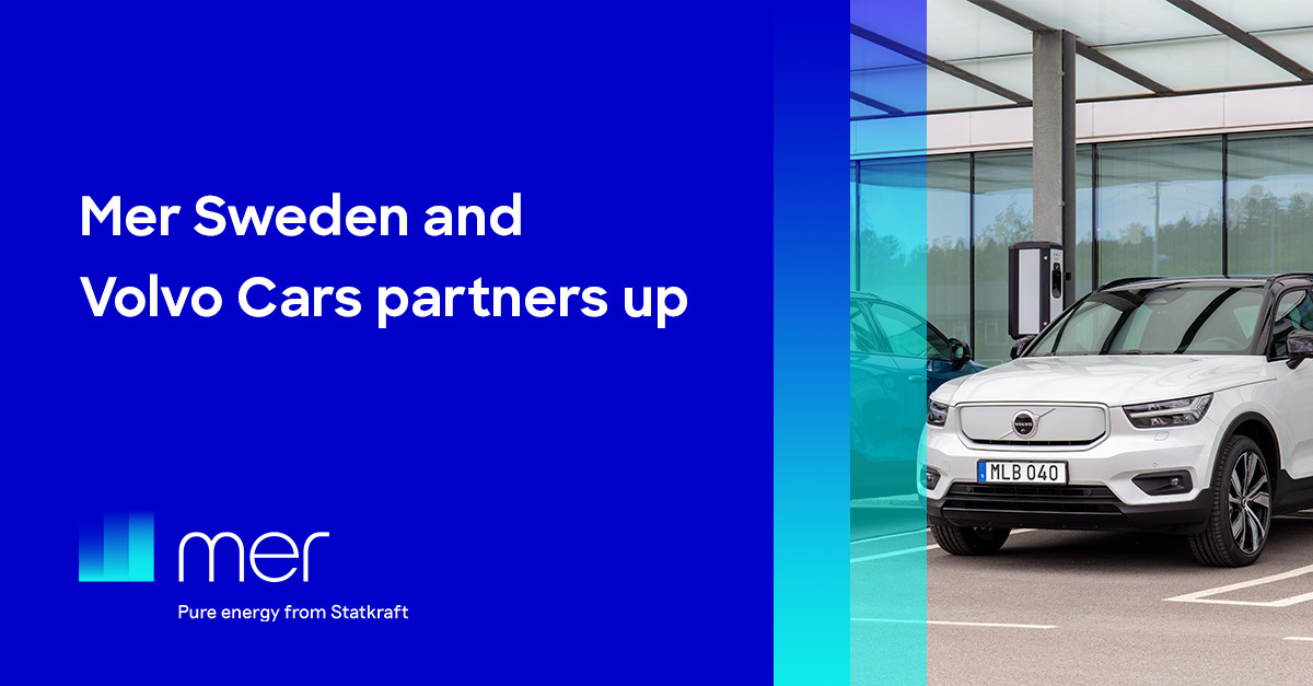 Mer partners up with Volvo